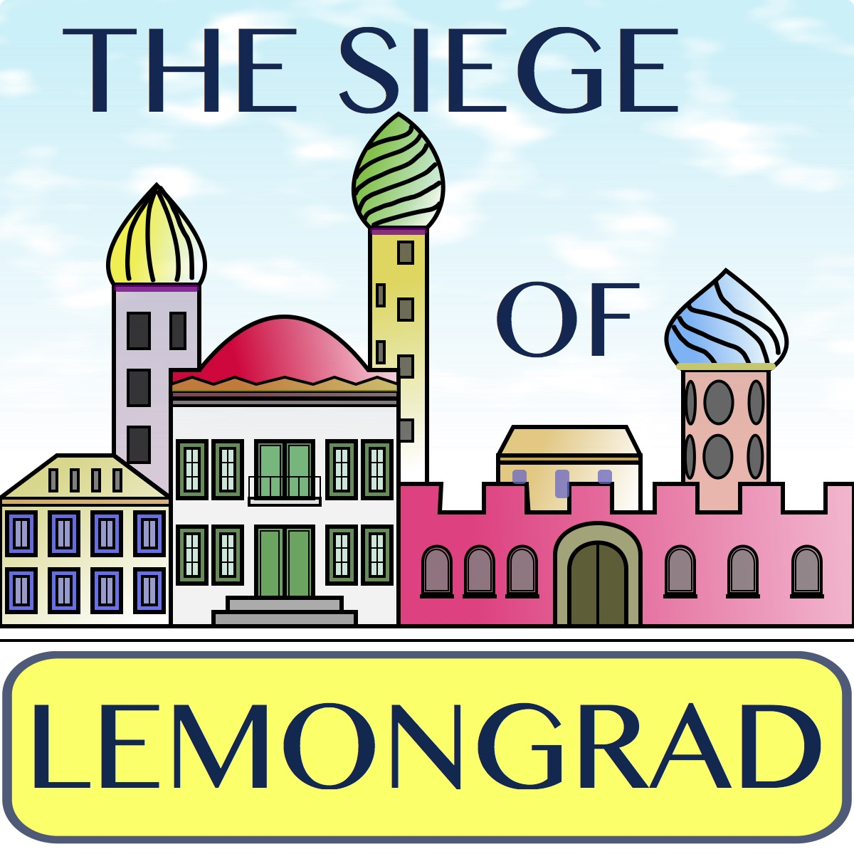 YouTube video of the composition The Siege of Lemongrad by Frans Absil